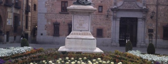 Plaza de la Villa is one of Dieter's favourite spots in Madrid.