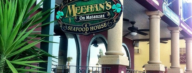 Meehan's Irish Pub is one of St Augustine Florida.