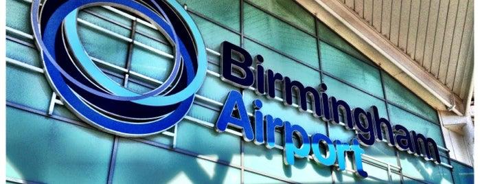 Flughafen Birmingham (BHX) is one of สนามบินนานาชาติ (1).