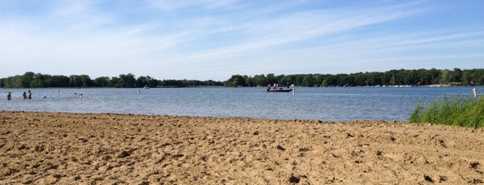 Portage Lake Swim & Beach Area (Waterloo State Rec. Area) is one of Top picks for Beaches.