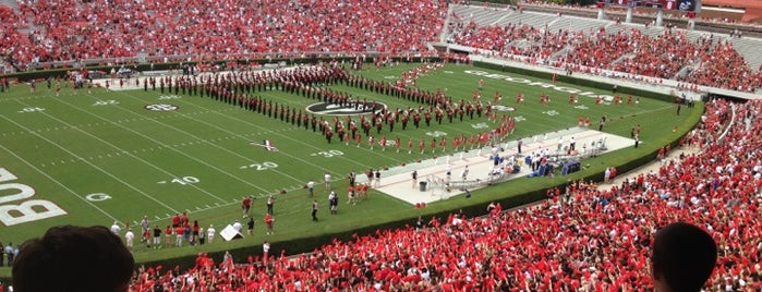 Sanford Stadium is one of Amarica Football.