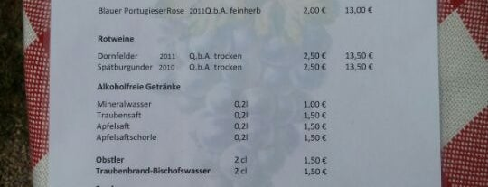 Familie Becker is one of Weinmeile.