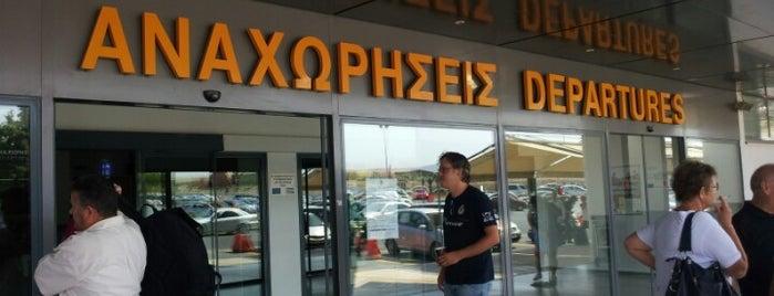 Heraklion International Airport Nikos Kazantzakis (HER) is one of Airports (around the world).