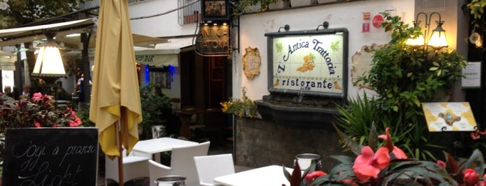 L'Antica Trattoria is one of Amalfi Coast.