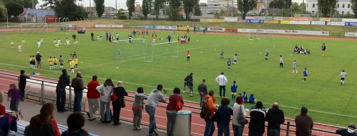 Stadion FC Stadlau is one of Schulmuseum Tour.