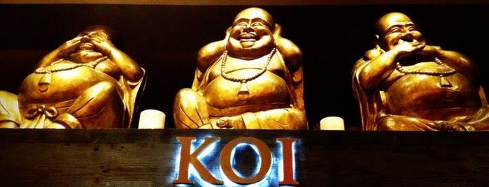 Koi Restaurant is one of 101 places to see in Las Vegas before your die.