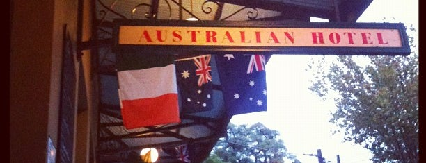 The Australian Heritage Hotel is one of Sydney Pubs.