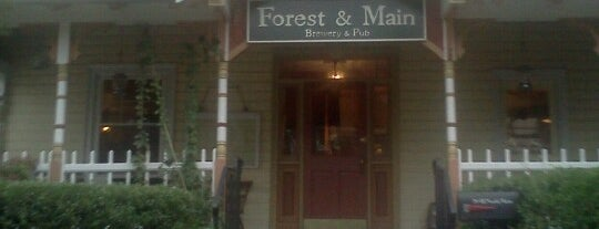 Forest & Main Brewing Company is one of Bars, Pubs, & Speakeasys.