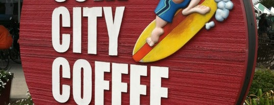 Surf City Coffee Company is one of Tempat yang Disukai Fábio.