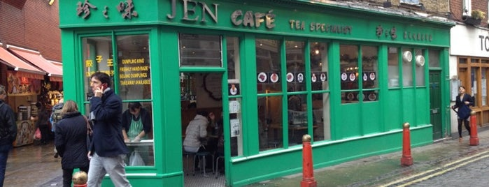 Jen Café is one of London Food.