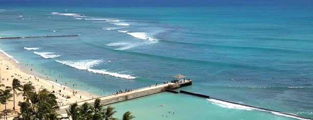 Waikiki Beach Marriott Resort & Spa is one of Posti che sono piaciuti a Kyusang.