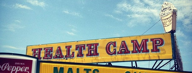 Health Camp is one of The Daytripper's Waco.