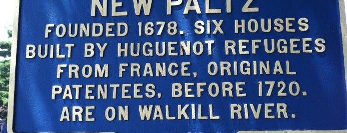 New Paltz, NY is one of Upstate NY.