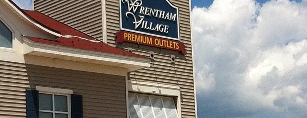 Wrentham Village Premium Outlets is one of Massachusetts.