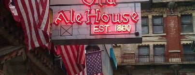 McGillin's Olde Ale House is one of Aaron's Philly Birthday Weekend.