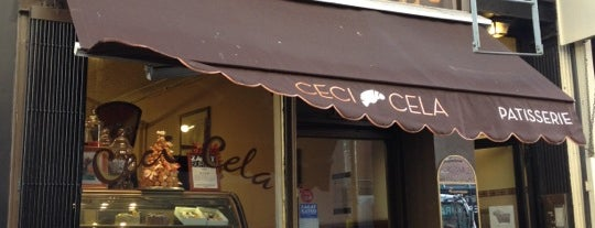 Ceci-Cela is one of Favorite bakeries and sweets.