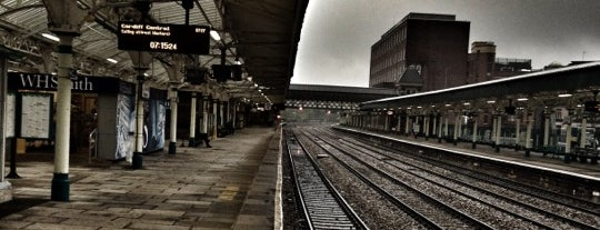 Newport Railway Station (NWP) is one of You calling me a train spotter?.