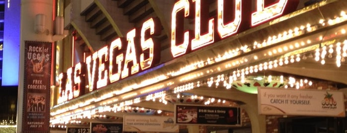 Las Vegas Club Hotel & Casino is one of CASINOS.