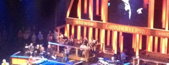 Grand Ole Opry House is one of US Landmarks.