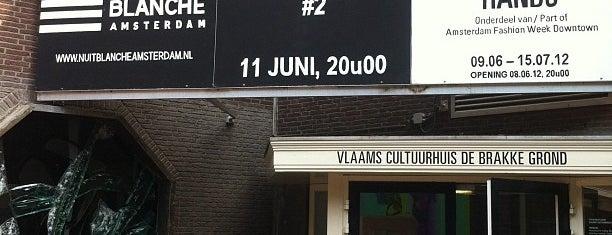 Vlaams Cultuurhuis de Brakke Grond is one of Museumnacht Amsterdam 2013.