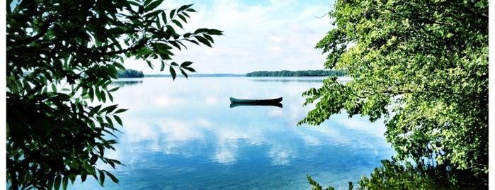 Großer Plöner See is one of Plöner See.