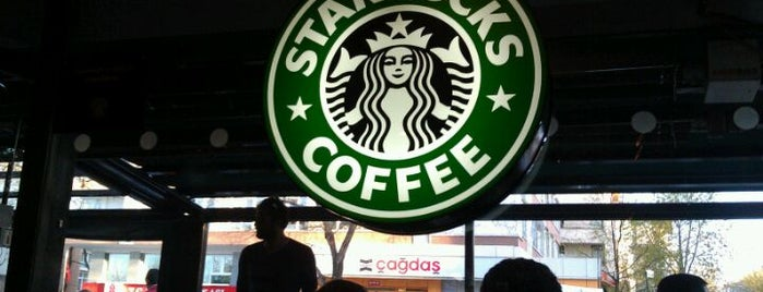 Starbucks is one of Locais curtidos por Burak.