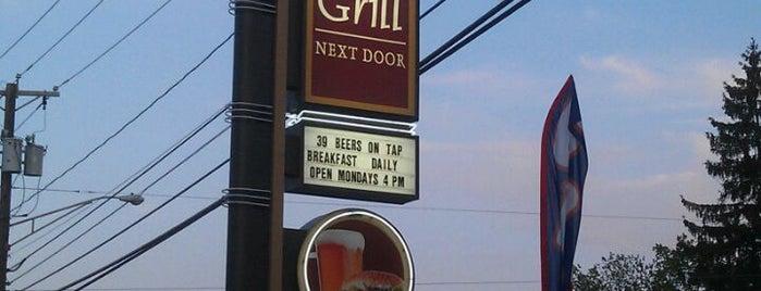 The Grill Next Door is one of Tempat yang Disimpan Gregg.