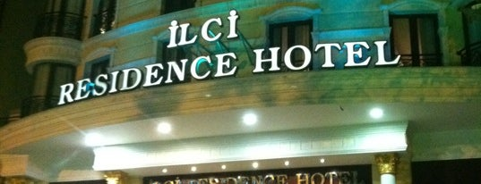 İlci Residence Hotel is one of Lieux qui ont plu à Halil.