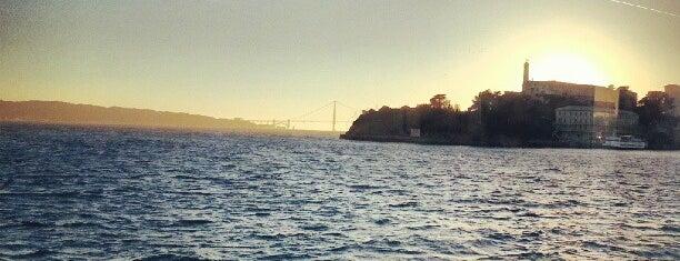 Alcatraz Island is one of San Francisco.