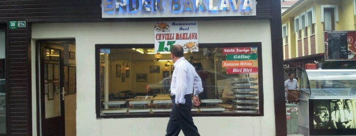 Ender Baklavacısı is one of Murat karacimさんの保存済みスポット.