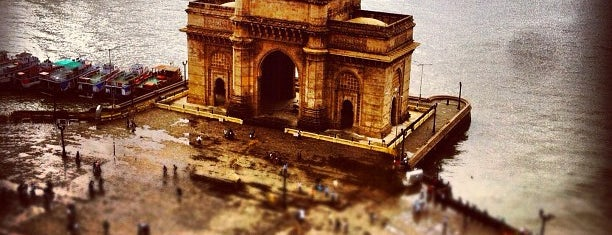 Gateway of India is one of Mumbai 2014 LenTom.