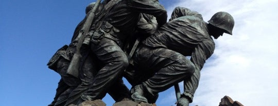 US Marine Corps War Memorial (Iwo Jima) is one of Must See DC!.