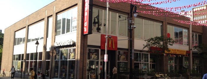 McDonald's is one of Bob 님이 좋아한 장소.