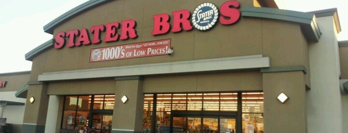 Stater Bros. Markets is one of Salma's Liked Places.
