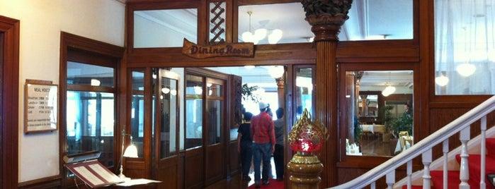 日光金谷ホテル メインダイニングルーム is one of Takashi'nin Beğendiği Mekanlar.