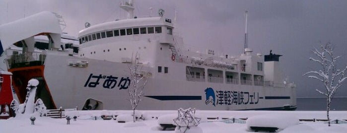津軽海峡フェリー 函館フェリーターミナル is one of Locais curtidos por 高井.