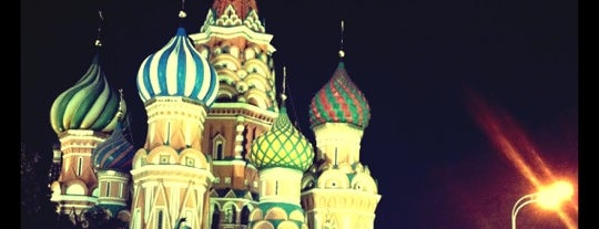 St. Basil's Cathedral is one of Hopefully, I'll visit these places one day....