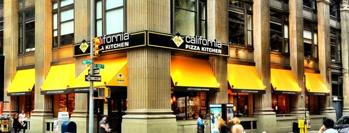 California Pizza Kitchen is one of USA NYC MAN NoMad.