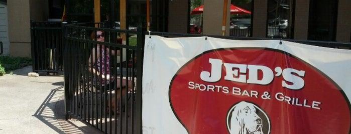 Jed's Sports Bar & Grille is one of Locais curtidos por Brady.