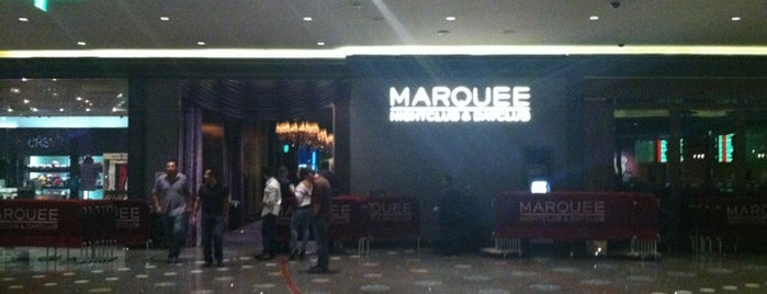 Boombox at Marquee is one of Locais curtidos por Cristina.