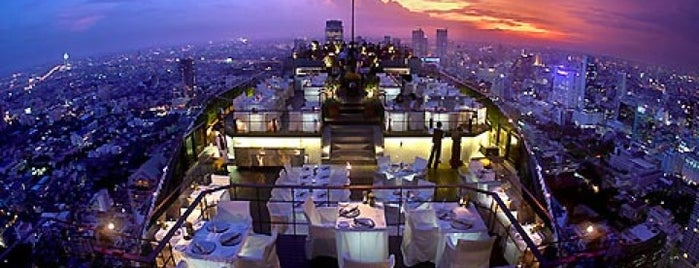 Vertigo is one of Bangkok - Rooftop Bars.