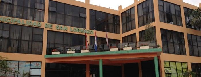 Municipalidad de San Lorenzo is one of Lugares.