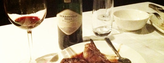 The Hussar Grill is one of Cape Town + Winelands.