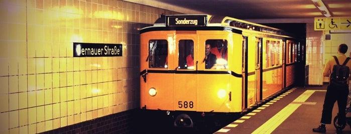 U Bernauer Straße is one of Berlin.
