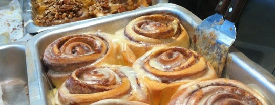 Cinnabon is one of London.