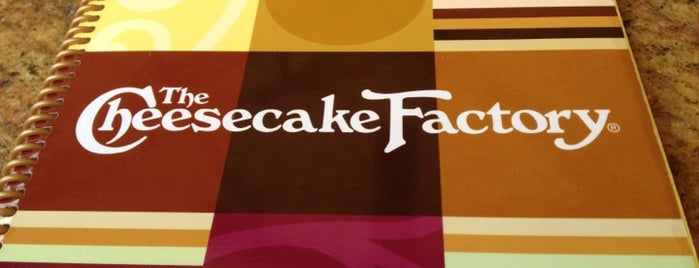 The Cheesecake Factory is one of Miami - To Visit.