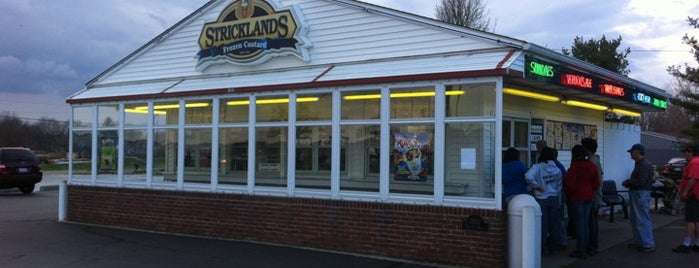 The Original Strickland's Frozen Custard is one of Favorites.