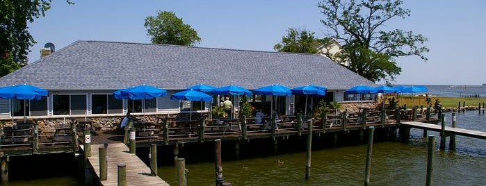Skippers Pier Restaurant and Dock Bar is one of Best of the Bay - Dock Bars of Maryland.