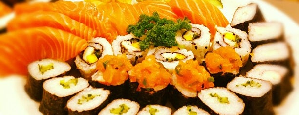 Sassá Sushi is one of Top places SP.