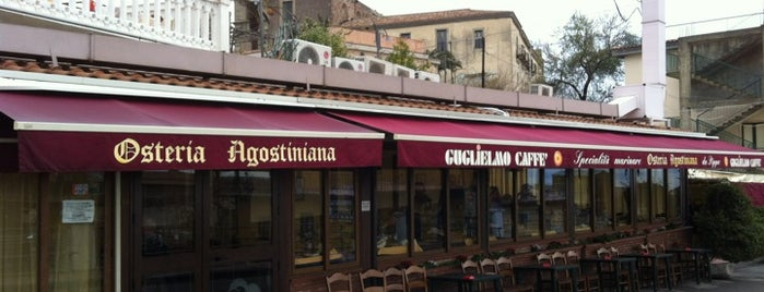 Osteria Agostiniana is one of Lieux qui ont plu à Hongjai.